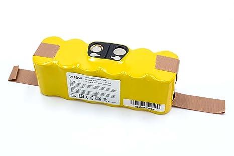 vhbw Batería NiMH 2000mAh (14.4V) para Aspirador iRobot Roomba 581, 582,