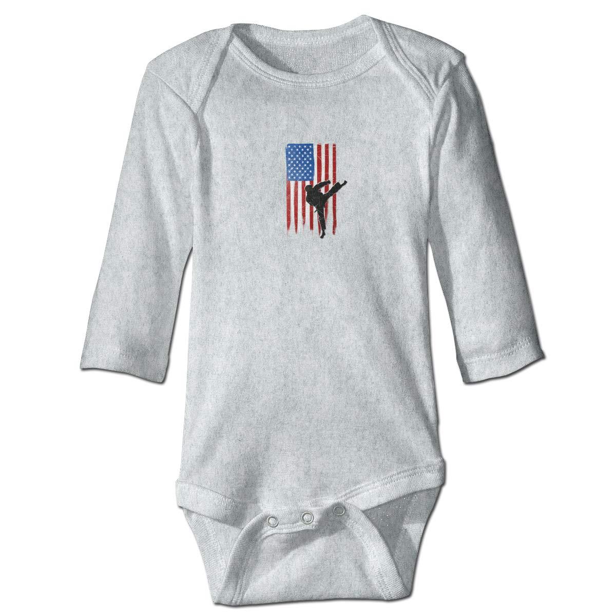 Dfenere 32536449/_162 Hip Hop Newborn Baby Long Sleeve Bodysuit Romper Infant Summer Clothing