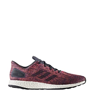 adidas Running Mens Pureboost Dpr Ltd Noble InkSolar Orange 7 D US