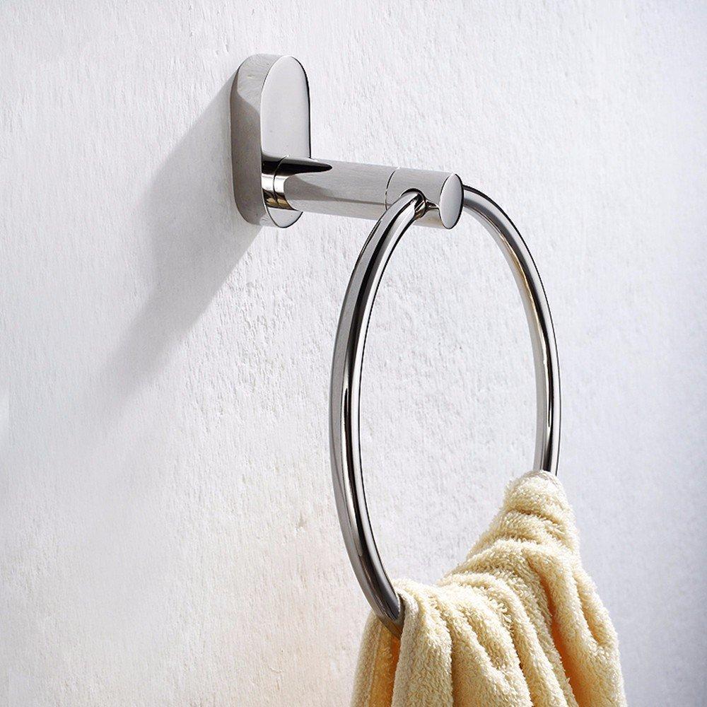 HOMEE Stainless Steel Bathroom Towel Ring Bathroom Towel Rack Rack by HOMEE