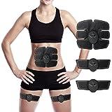 EMS 腹筋ベルト Charminer   自動的に腹筋トレーニング 筋肉刺激 ボディフィット 健康機械 男女兼用