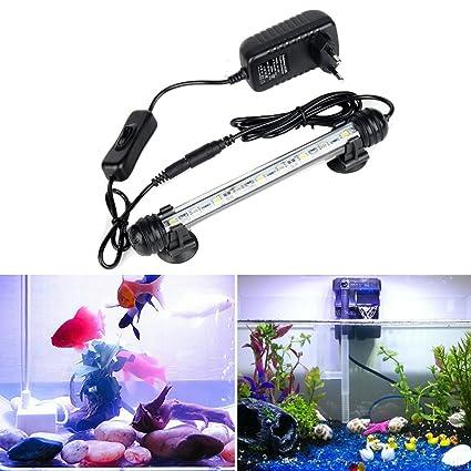 Lámpara LED para acuario GreenSun LED Lighting, de acrílico, decoración para acuario de peces