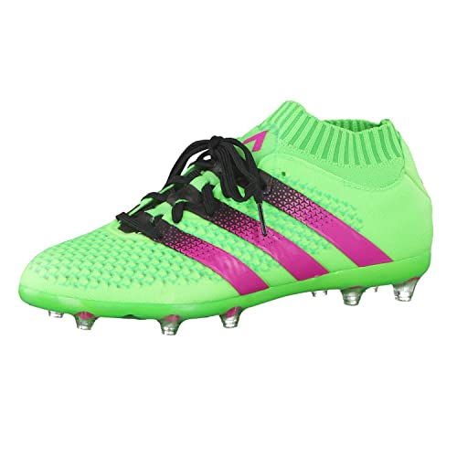 new style 1dafc 96aa9 adidas Ace 16.1 Primeknit FG AG J, Botas de fútbol Unisex Niños  Amazon.es   Zapatos y complementos