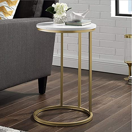 Amazon.com: HANSHAN Side Table Side Table, Minimalist ...