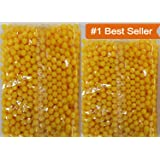 Something4u 2200 Pcs 6 MM Plastic BB Bullets for Toy Guns & Air Gun | | Yellow Or Green Colour
