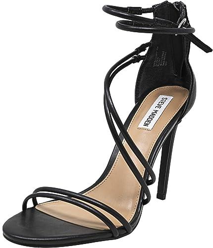 75e3ff00d29 Amazon.com | Steve Madden Women's Sonja Black Ankle-High Leather ...