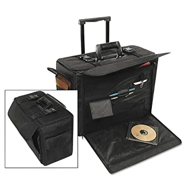 Amazon.com: stebco Nylon Catálogo/Computer Case sobre ruedas ...