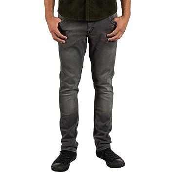 Volcom 2X4 Pantalones Vaqueros, Hombre, Gris (Cool Grey), 33 ...