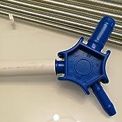 Fixkit Coupe Tube Pour Tubes En Plastique Jusquà 42 Mm Avec 6pcs Ressort De Flexion Et 1pcs Calibreurs Pour Pex Pe Tuyau Composite Des Tuyaux En