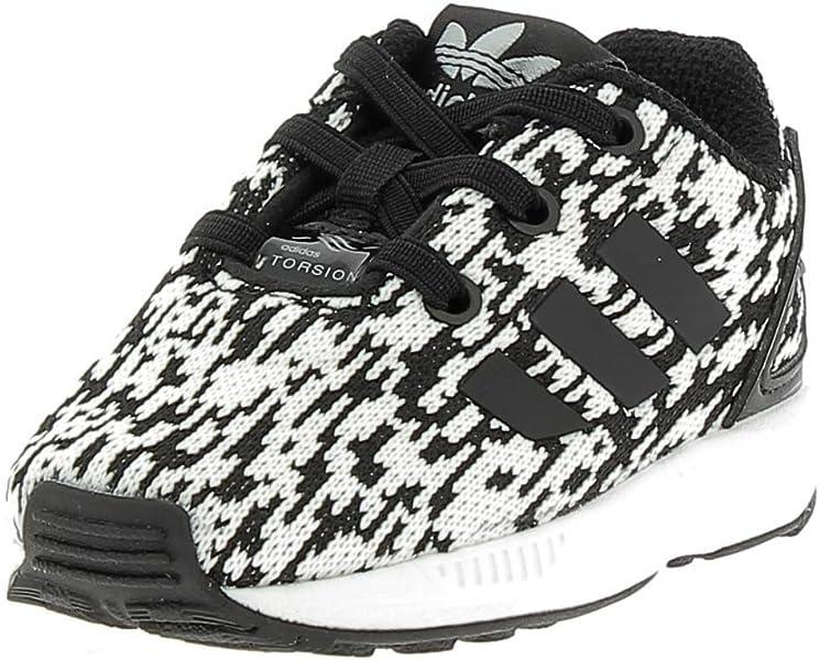 super popular 877d5 cc9ac adidas ZX Flux El i, Sneakers Unisex - Bimbi 0-24, Nero (Core BlackCore  BlackFtwr White), 19 EU Amazon.it Scarpe e borse
