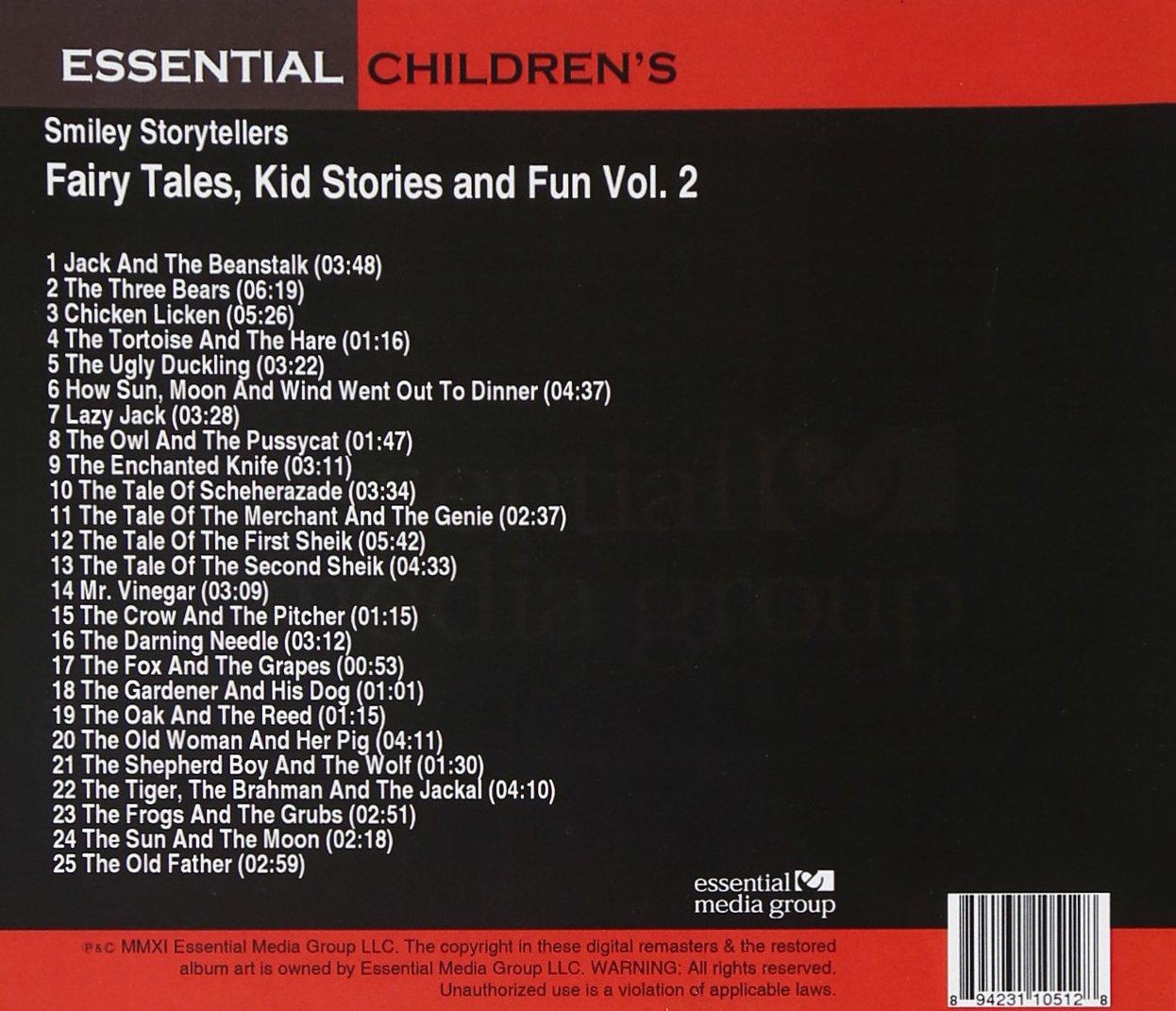 Fairy Tales, Kid Stories and Fun Vol. 2