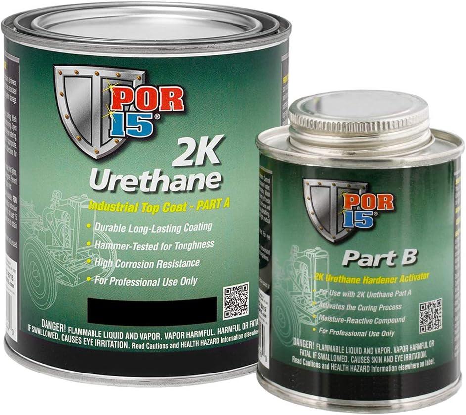 POR-15 43201 Gloss Black 2K Urethane - 1 gal 710RcEGJomLSL1000_
