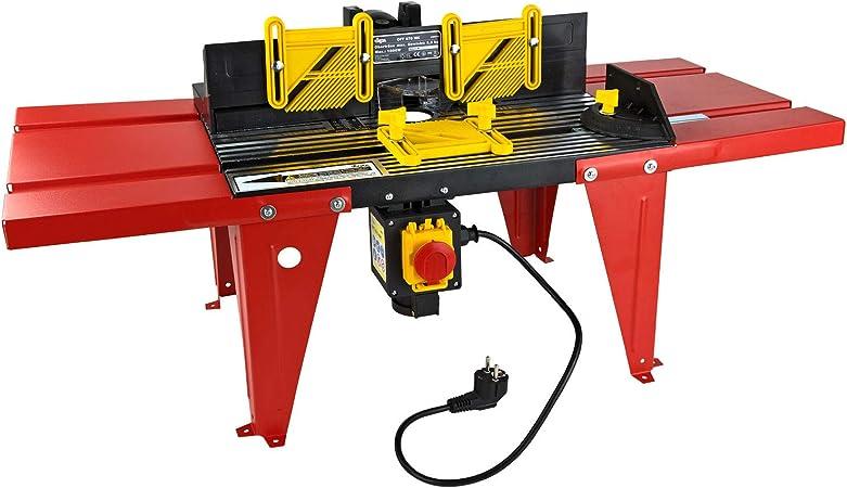Table Defonceuse Ou A Fraisage Oft 870 X 380 Mm Amazon Fr Bricolage