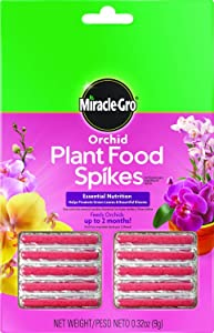 Miracle-Gro Orchid Plant Food Spikes (Pack of 2)