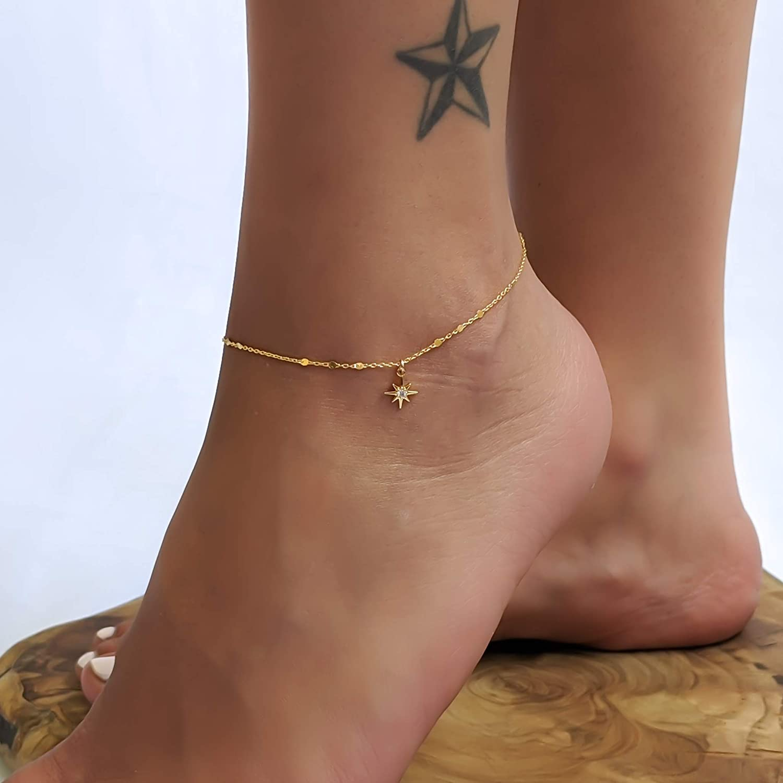 Dainty Anklet STAR ANKLET Trendy Anklet