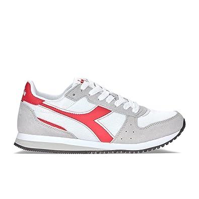 Diadora , Baskets pour homme blanc White/Blue/Red - blanc - White/Blue/Red, EUR 39 UK 6 US 6.5 EU