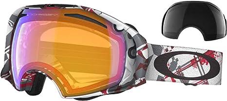 insegnare soffrire dormienza  Oakley Airbrake - Maschera da Sci da Uomo, 57-399, Rosso/Bianco/Kaki  (Airbrake Red/White Shattered/Hi Persimmon), Taglia Unica: Amazon.it:  Abbigliamento
