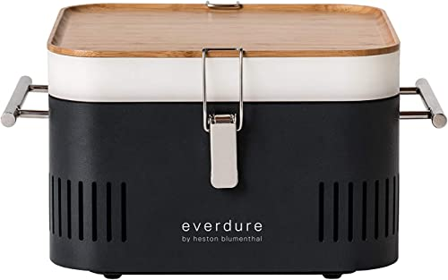 Everdure-by-Heston-Blumenthal-Cube-Portable-Charcoal-Grill-Perfect-for-Picnics