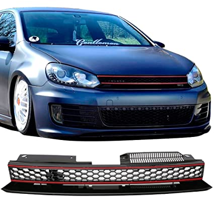 mk6 gti front bumper painted
