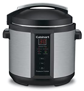 Conair Cuisinart CPC-600 6 Quart 1000 Watt Electric Pressure Cooker