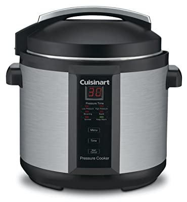 Cuisinart CPC-600 6 Quart 1000 Watt Electric Pressure Cooker