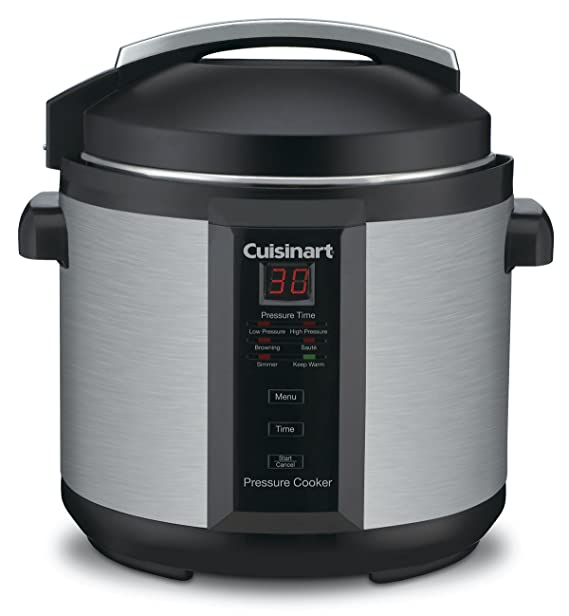 Cuisinart CPC-600 6 Quart 1000 Watt Electric Pressure Cooker (Stainless Steel)