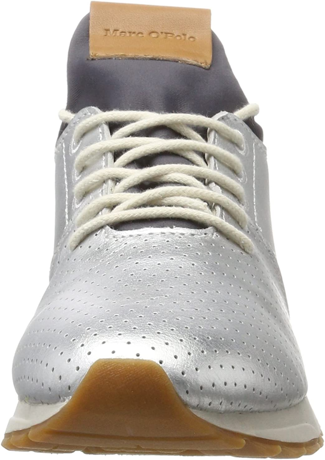 Marc O'Polo Women's Sneaker 70713893502102 Trainers Silber (Silver)