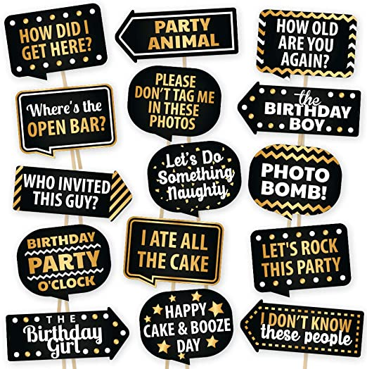 Something New Set of 4 Signs Something Old Selfie Signs