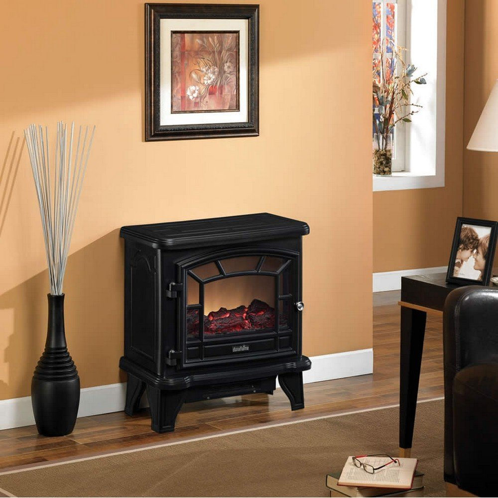 Amazon.com: Duraflame DFS-550-21-BLK Maxwell Electric Stove with ...