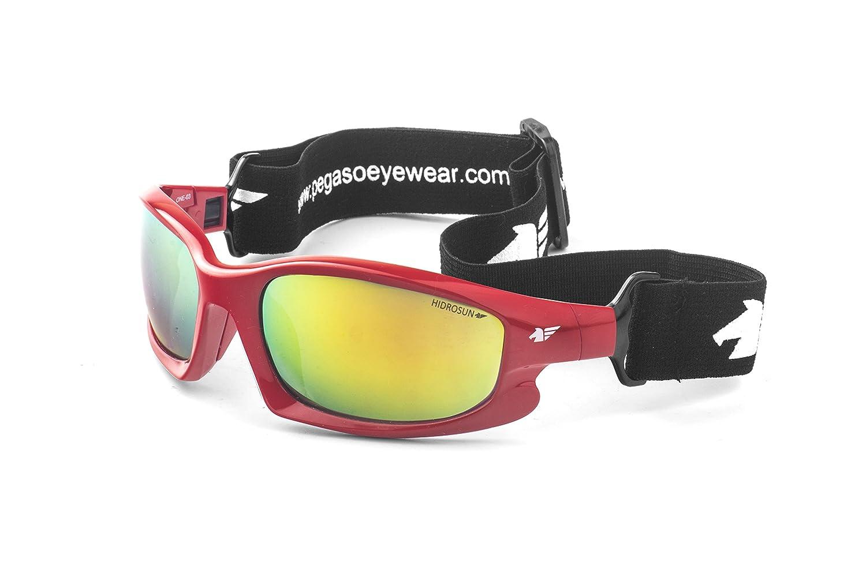 Pegaso One Gafas de Sol, Rojo/Verde Revo, 60 Unisex: Amazon ...