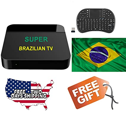 Amazon com: 2019 Htv Box Super Brazilian TV Based on HTV6+