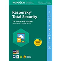 Kaspersky Total Security 2019 | 10 Devices | 1 Year | PC/Mac/Android | Online Code