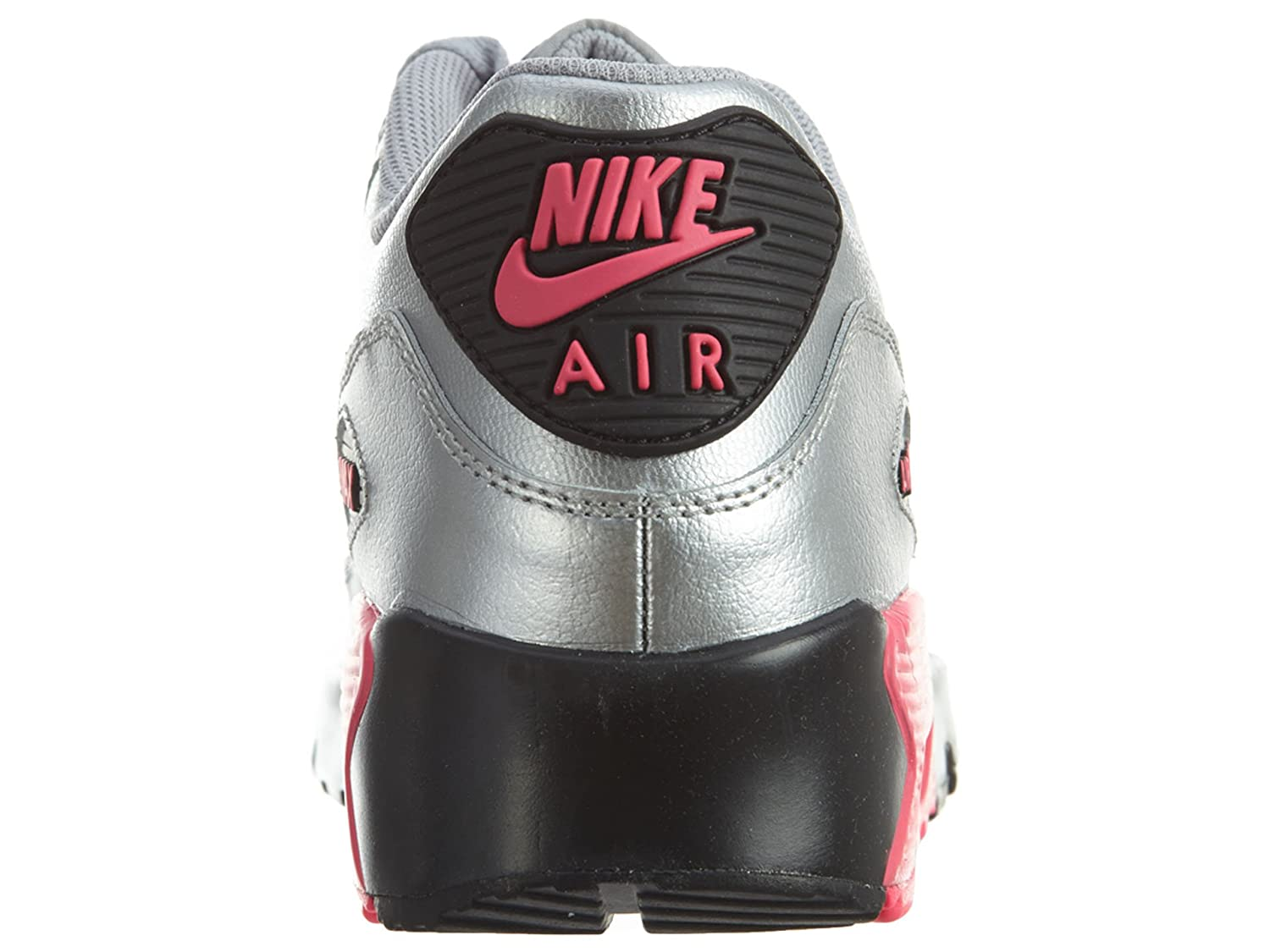 6 M US GS Nike Air Max 90 LTR Big Kids Shoes Metallic Silver//Hyper Pink 833376-004