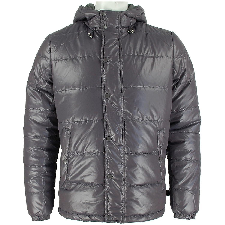 Bellfield Xenon Mens Puffa Jacket Charcoal