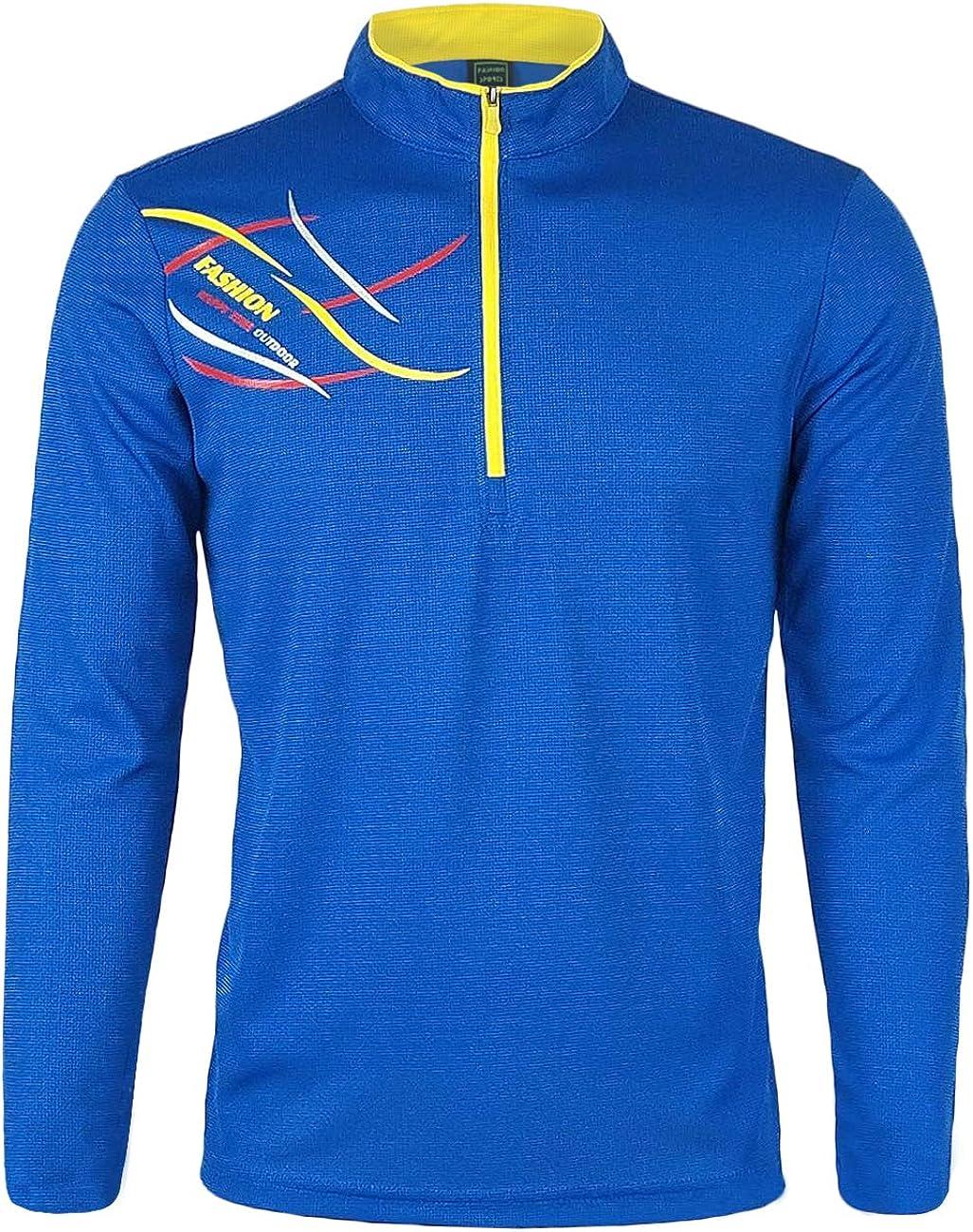 BALEAF Mens 1//4 Zip Pullover UPF 50 Sun Protection Thumbholes Long Sleeve Shirt for Hiking、Fishing、Camping