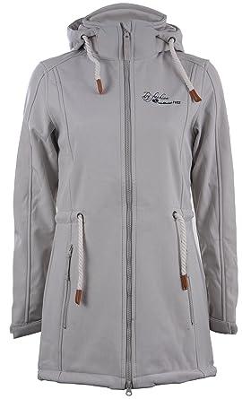 Sylt Mantel Softshellmantel Damen Fashion Modell Softshell Winddicht Dry Atmungsaktiv Jacke Lang TIZqwSxUnY