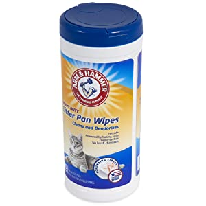 Arm & Hammer Cat Litter Pan Wipes