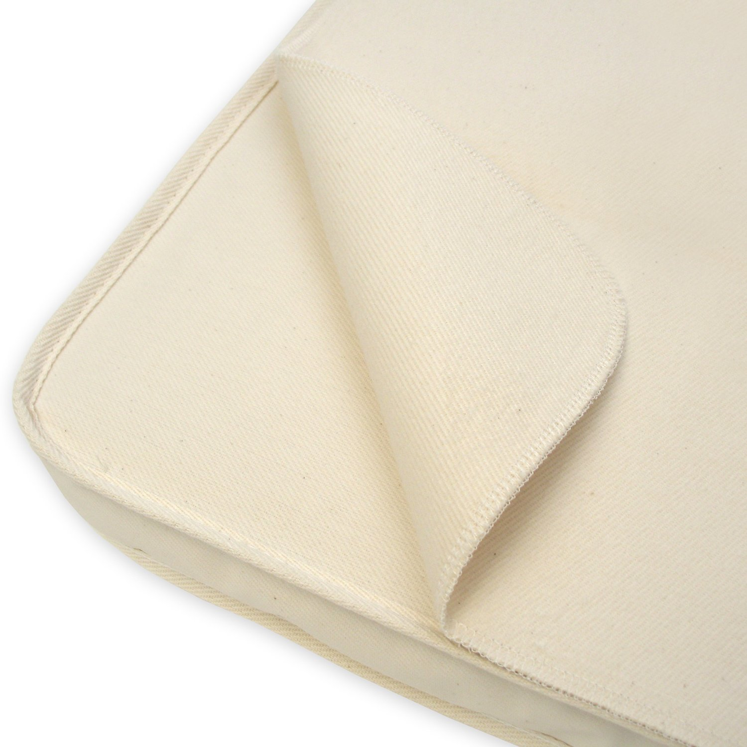 Naturepedic Waterproof Flat Portacrib Pad, 24x38 PP62W