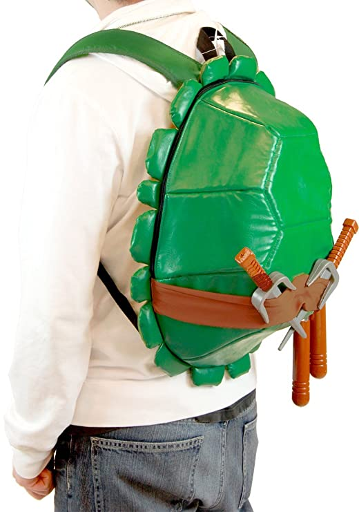 Amazon.com: Ninja Turtle Shell – Mochila con máscaras Set
