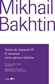 Teoria do romance III: O romance como gênero literário