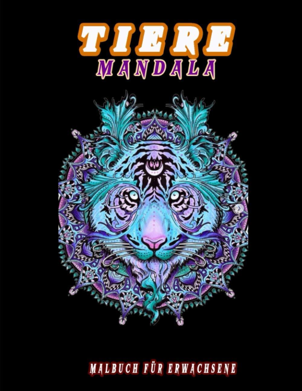 Tiere Mandala Malbuch für Erwachsene: Mandala Ausruhen für
