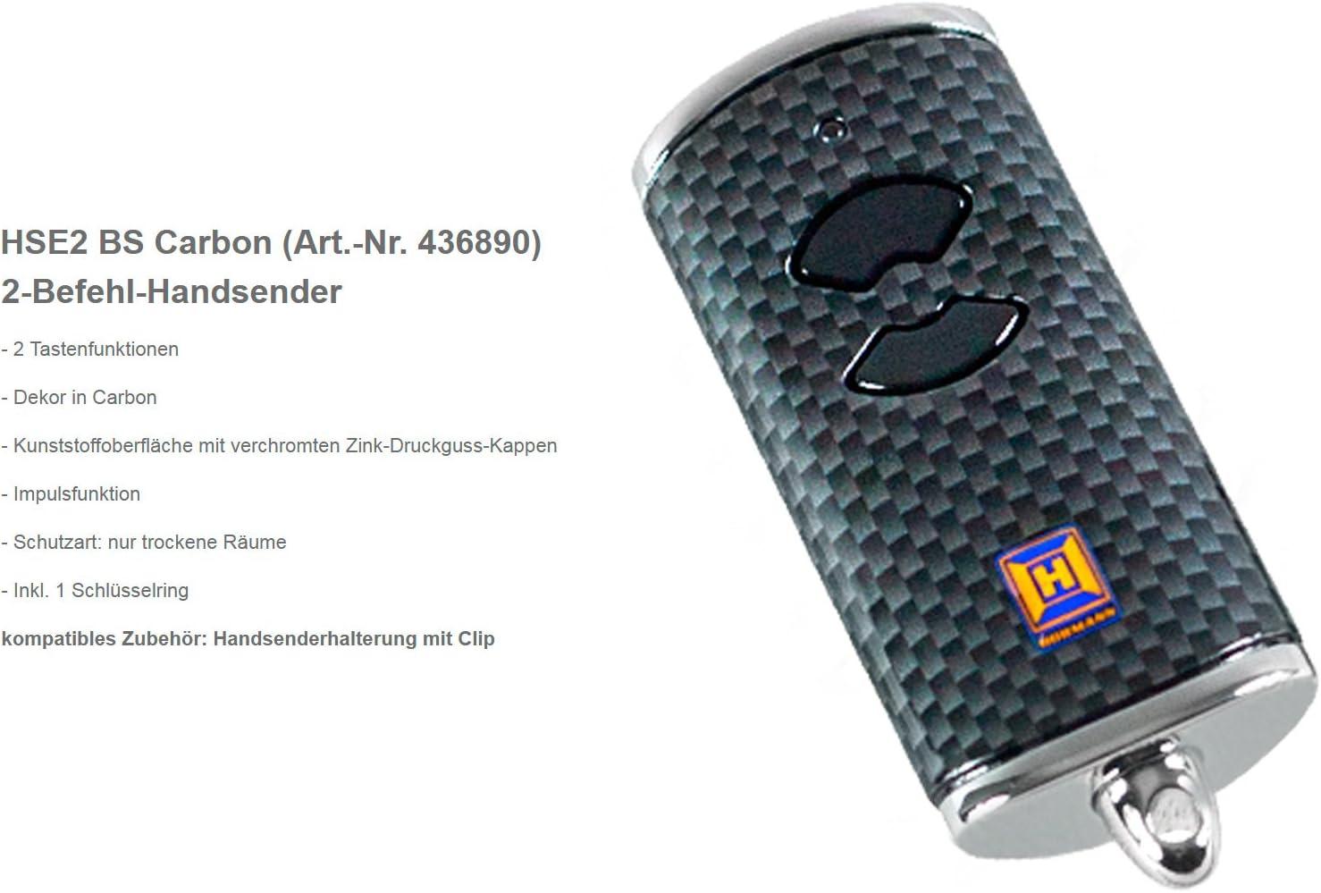 H/örmann 436884 2 St/ück Handsender HSE2 BS 868MHz Rot