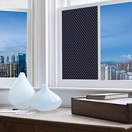 """*24/""""x48/"""" Red Frosted Film Glass Home Bathroom Window Security Privacy Sticker"""