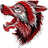 Parche termoadhesivo para la ropa, diseño de El lobo rugiente