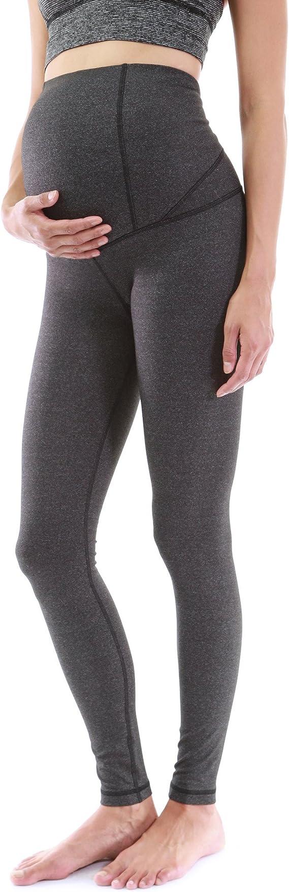PattyBoutik Mama Mujer Que Forma la Serie Maternidad Pantalones de Yoga Legging