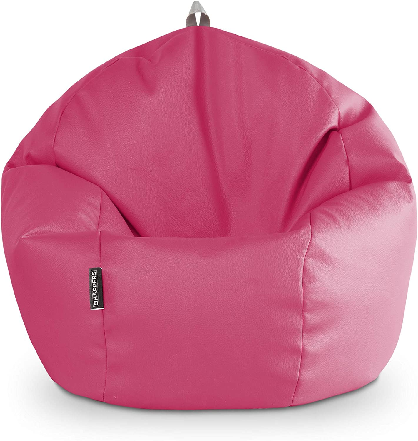 HAPPERS Puff Pelota Polipiel Indoor Fucsia