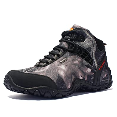 567d8f9a143 Amazon.com | GOMNEAR Men Hiking Boots Trekking Shoes Outdoor Sport ...