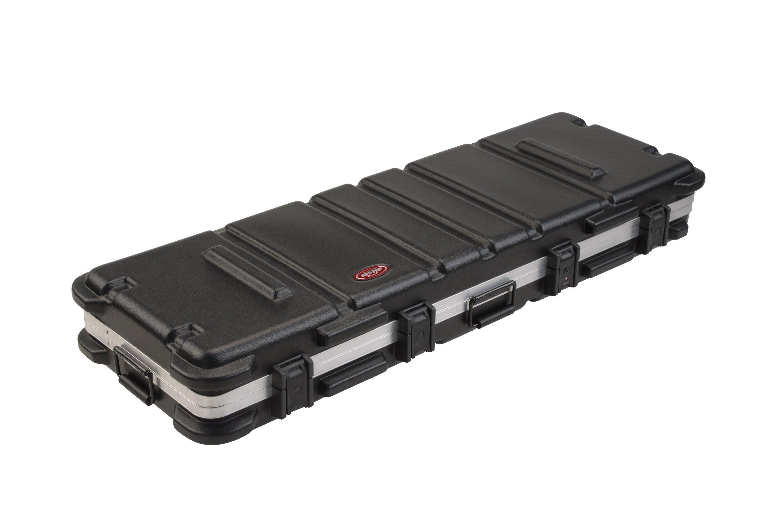 SKB ATA 76-Note Keyboard Case with Wheels, TSA Locking, Trigger Latch