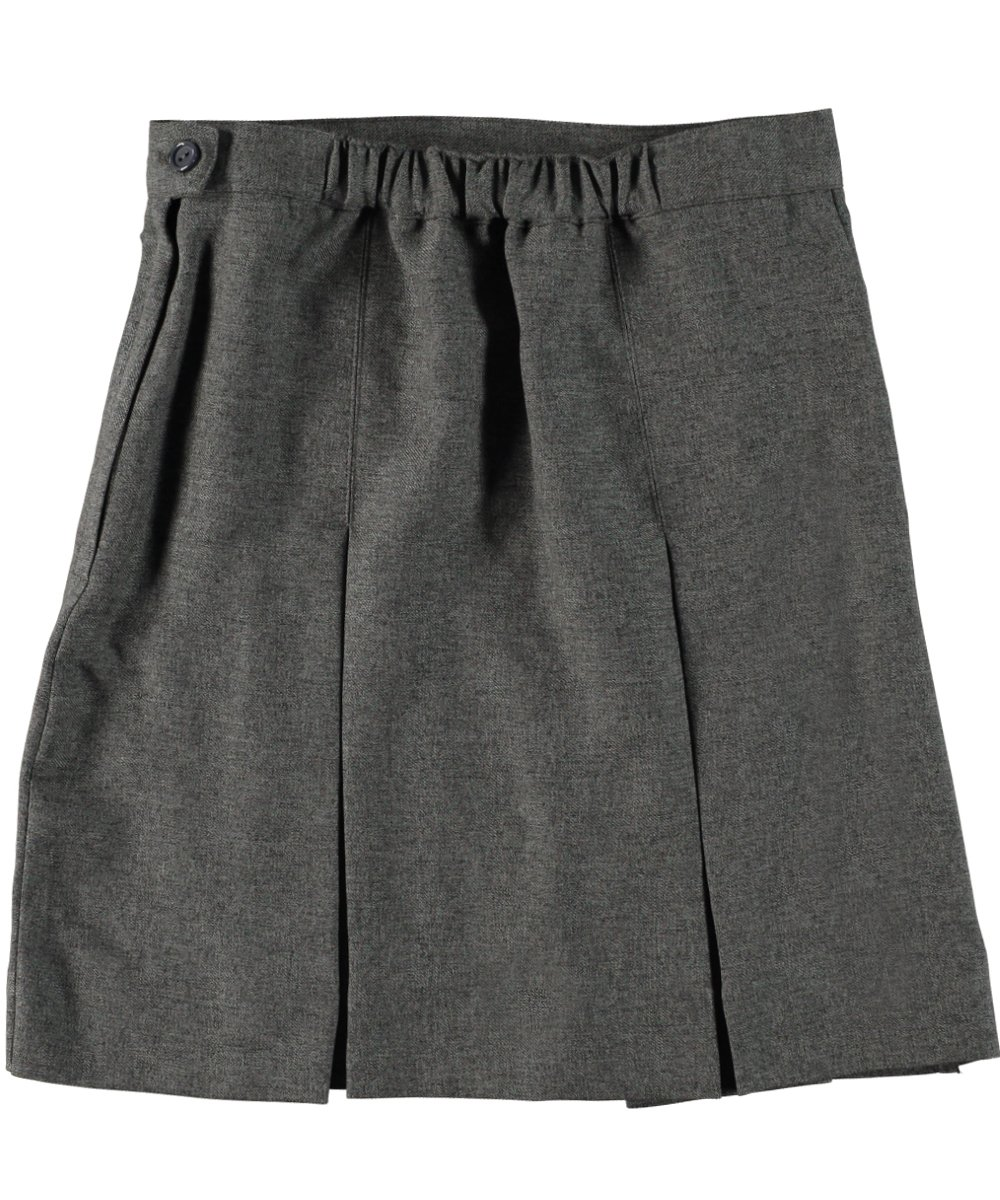 Cookie's Brand Big Girls' Box Pleat Skirt - gray, 8