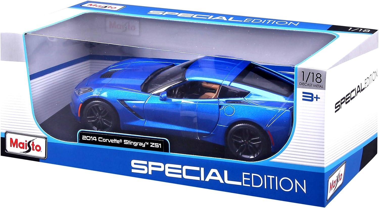 Maisto Special Edition Diecast 1//18 2014 Corvette Stingray Z51